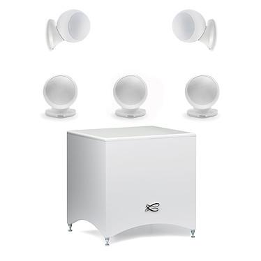 Avis Denon AVR-X1300W Noir + Cabasse Alcyone 2 Pack 5.1 Blanc