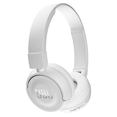 JBL T450BT blanco Auricular cerrado con micrófono integrado y auriculares inalámbricos Bluetooth