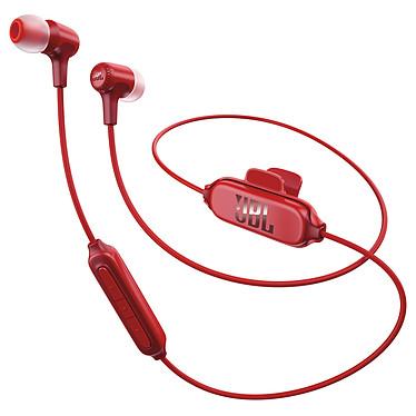 JBL E25BT Rouge Écouteurs intra-auriculaires sans fil Bluetooth avec télécommande et micro