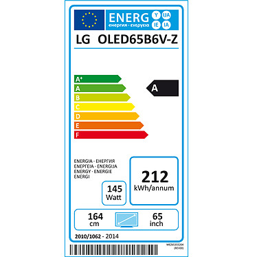 LG OLED65B6V a bajo precio
