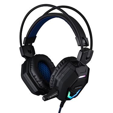 The G-Lab KORP#300 Casque-micro pour gamer avec système de vibration et rétro-éclairage (PC/PS4/Xbox One/Smartphone/Tablette/PS Vita)