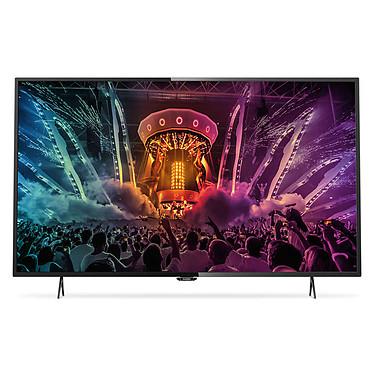 """Philips 55PUH6101 Téléviseur LED 4K 55"""" (140 cm) 16/9 - 3840 x 2160 pixels - TNT et Câble HD - Ultra HD 2160p - Wi-Fi - 800 Hz"""