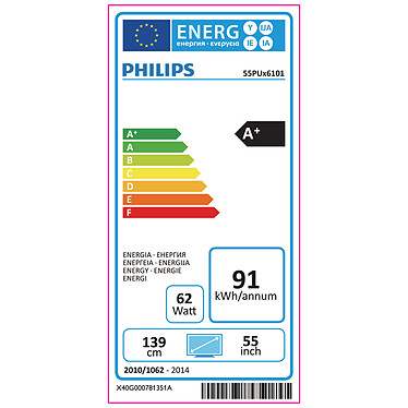Philips 55PUH6101 pas cher