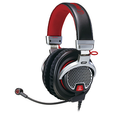 Audio-Technica ATH-PDG1 Casque-micro circum-auriculaire ouvert pour gamer (PC/PS4/iOS)