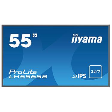 "iiyama 55"" LED - Prolite LH5565S-B1 1920 x 1080 pixels 16:9 - IPS - 1100:1 - 12 ms - HDMI - Haut-parleur intégré - Noir"