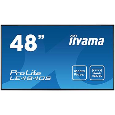 """iiyama 48"""" LED - Prolite LE4840S-B1 1920 x 1080 pixels 16:9 - SVA - 4000:1 - 8 ms - HDMI - Haut-parleur intégré - Noir"""