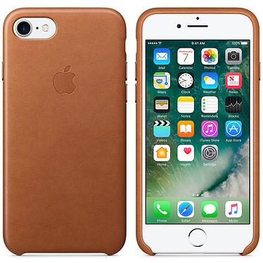 Apple Coque en cuir Havane Apple iPhone 7  Coque en cuir pour Apple iPhone 7