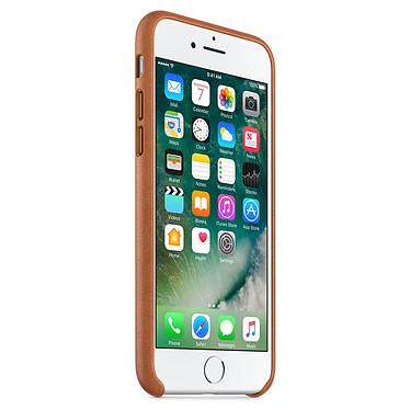 Avis Apple Coque en cuir Havane Apple iPhone 7
