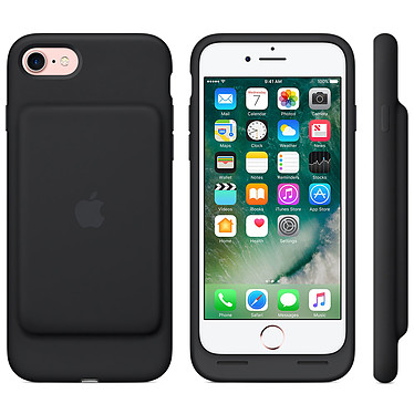 Avis Apple Smart Battery Case Noir Apple iPhone 7