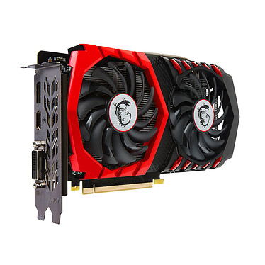Avis MSI GeForce GTX 1050 Ti GAMING X 4G
