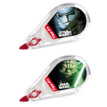 TIPP-EX correcteur Star Wars minipocket mouse Cinta de corrección 5mm x 5m x 5m modelo aleatorio