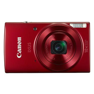 Canon IXUS 180 Rojo Cámara de 20 MP - zoom óptico de gran angular 10x - vídeo HD - Wi-Fi - NFC