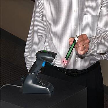 Avis Datalogic QuickScan QBT2430 + support + câble USB Noir