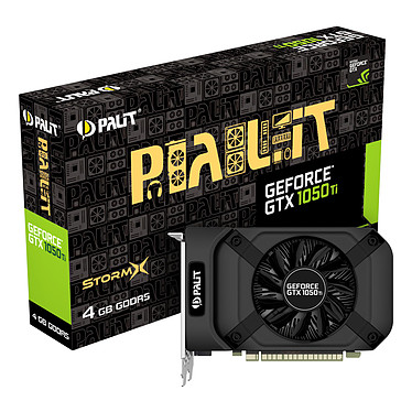 Palit GeForce GTX 1050 Ti StormX 4G