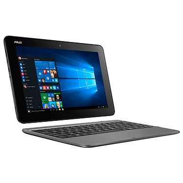 "ASUS Transformer Book T101HA-GR029RB Gris avec clavier Intel Atom x5-Z8350 4 Go eMMC 64 Go 10.1"" LED Tactile Wi-Fi AC/Bluetooth Webcam Windows 10 Professionnel 64 bits (garantie constructeur 2 ans)"
