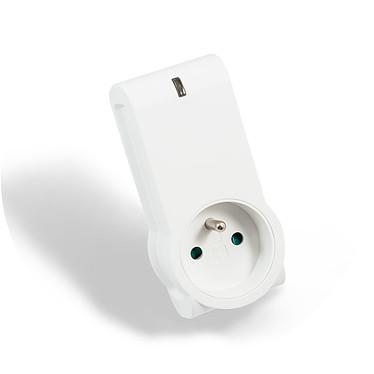 NodOn SmartPlug ZWave Plus Metering Prise intelligente avec metering compatible Z-Wave et Z-Wave Plus