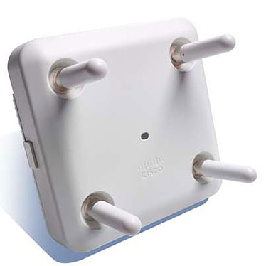 Cisco Aironet 2802e-e Access Point (AIR-AP2802E-E-K9) Point d'accès sans fil 5.2 Gbps Wi-Fi ac Dual Band Wave 2 (2.4 + 5 GHZ ou 2 x 5 GHZ ou 5 GHz)