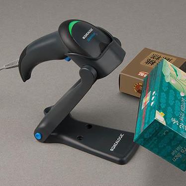 Datalogic QuickScan QW2120 (coloris noir) + support + câble USB pas cher