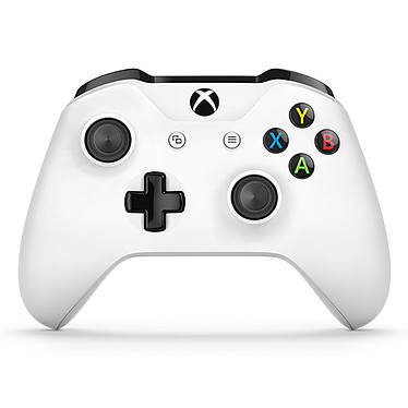 Microsoft Xbox One Wireless Controller Blanc Manette de jeu sans fil (compatible Xbox One et PC)