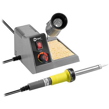 Station de soudure analogique (fer + support avec réglage analogique + éponge) Station de soudure analogique