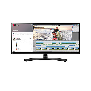 "LG 34"" LED 34UM88C-P 3440 x 1440 pixels - 5 ms - Format large 21/9 - Dalle IPS - HDMI - Noir"