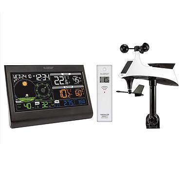 La Crosse Technology WS6868 Station météo semi-professionnelle avec écran couleur LCD et capteurs anémo-pluvio et thermo-hygro