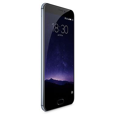 "Meizu MX6 32 Go Gris Smartphone 4G-LTE Advanced Dual SIM - Helio X20 10-Core 2.3 Ghz - RAM 4 Go - Ecran tactile 5.5"" 1080 x 1920 - 32 Go - Bluetooth 4.1 - 3060 mAh - Android 6.0"