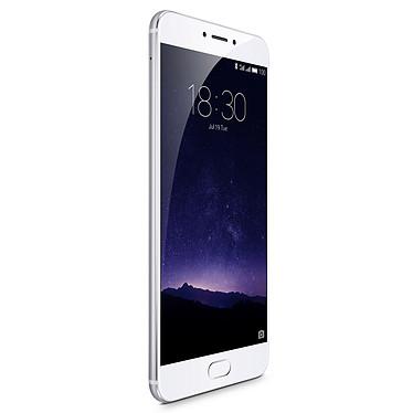 "Meizu MX6 32 Go Argent Smartphone 4G-LTE Advanced Dual SIM - Helio X20 10-Core 2.3 Ghz - RAM 4 Go - Ecran tactile 5.5"" 1080 x 1920 - 32 Go - Bluetooth 4.1 - 3060 mAh - Android 6.0"