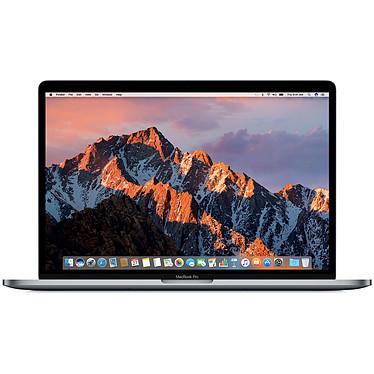 """Apple MacBook Pro 15"""" Gris Sidéral (MLH32FN/A-512GB) Intel Core i7 (2.6 GHz) 16 Go SSD 512 Go 15.4"""" LED AMD Radeon Pro 450 Wi-Fi AC/Bluetooth Webcam Mac OS Sierra"""