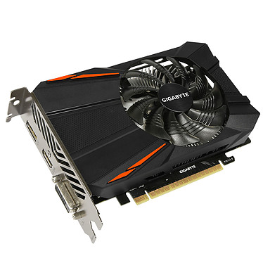 Carte graphique Gigabyte GeForce GTX 1050 Ti D5 4G