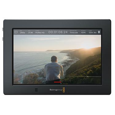 """Blackmagic Design Video Assist 4K Ecran de monitoring 7"""" WUXGA avec enregistreur Ultra HD et down-convertisseur"""