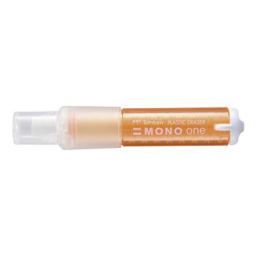 TOMBOW MONO ONE Orange (EH-SSM50) Goma de borrar recargable blanca