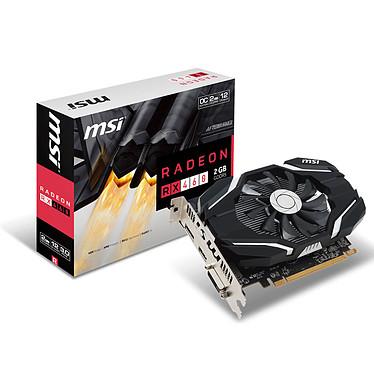 MSI RADEON RX 460 2G OC 2 Go DVI/HDMI/DisplayPort - PCI Express (AMD Radeon RX 460)