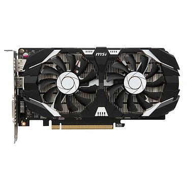 Carte graphique MSI GeForce GTX 1050 TI 4GT OC