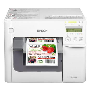 Epson ColorWorks TM-C3500 Imprimante à étiquettes, billets et fiches avec (USB / Ethernet)