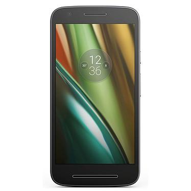 "Motorola Moto E3 Noir Smartphone 4G-LTE - MediaTek MTK 6735P Quad-Core 1.0 Ghz - RAM 1 Go - Ecran tactile 5"" 720 x 1280 - 8 Go - Bluetooth 4.0 - 2800 mAh - Android 6.0"