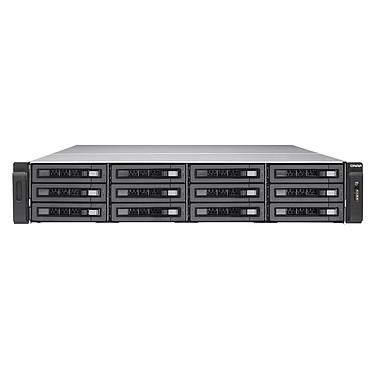 """QNAP TES-1885U-D1531-32G Serveur NAS professionnel à double système d'exploitation avec 12 baies 2.5/3.5"""" (SAS 12 Gbps/SAS/SATA 6 Gbps) + 6 baies SSD 2.5"""" (SATA 6Gb/s) et 32GB DDR4 non-ECC RAM ( 16 GB UDIMM x 2 )"""