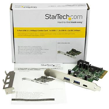 StarTech.com PEXUSB312EIC pas cher