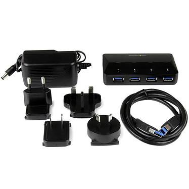 StarTech.com Hub USB 3.0 à 4 ports avec port dédié à la charge pas cher