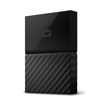 "WD My Passport 2 To Noir (USB 3.0) Disque dur externe 2.5"" sur port USB 3.0 / USB 2.0"