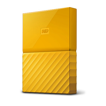 "WD My Passport 2 To Jaune (USB 3.0) Disque dur externe 2.5"" sur port USB 3.0 / USB 2.0"
