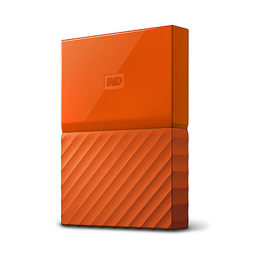 "WD My Passport Thin 2 To Orange (USB 3.0) Disque dur externe 2.5"" sur port USB 3.0 / USB 2.0"