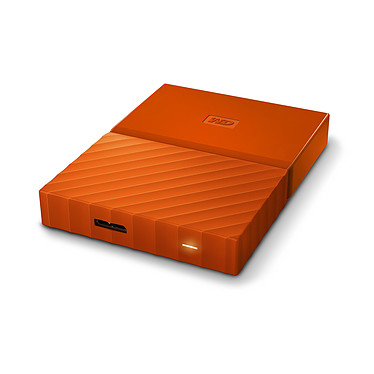 Acheter WD My Passport 2 To Orange (USB 3.0)