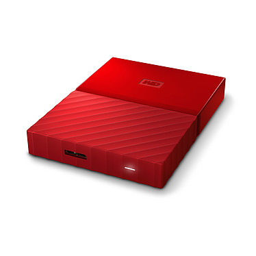 Comprar WD My Passport 4Tb Rojo (USB 3.0)