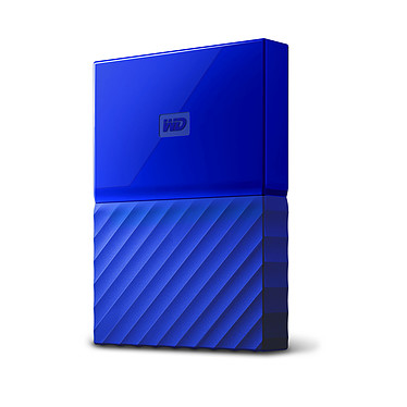 "WD My Passport 3 To Bleu (USB 3.0) Disque dur externe 2.5"" sur port USB 3.0 / USB 2.0"