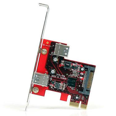 Avis StarTech.com Carte contrôleur PCI-E (2 ports USB 3.0 Type A - interne/externe)