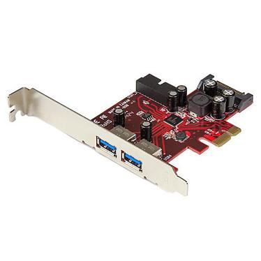 StarTech.com Carte contrôleur PCI Express à 4 ports USB 3.0 - 2 externes 2 internes