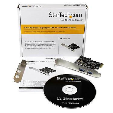 StarTech.com PEXUSB3S23 pas cher
