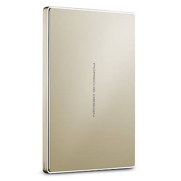 LaCie Porsche Design Mobile Drive 2 To - Or (USB 3.1)