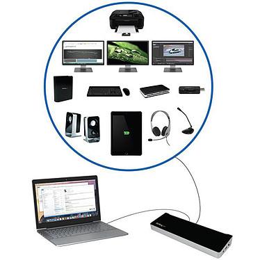 Avis StarTech.com USB3DOCKH2DP
